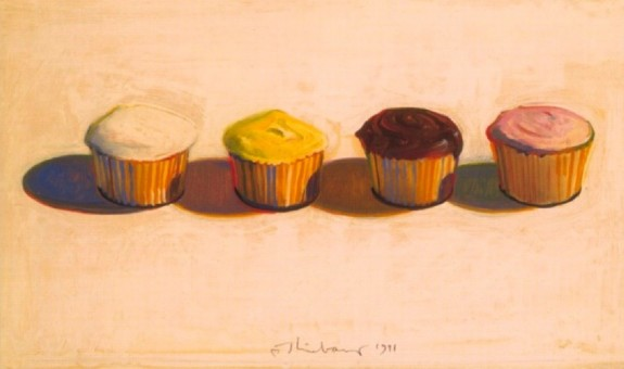 wayne thiebaud cupcake. by Wayne Thiebaud,
