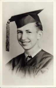 Paul F Deisler, Jr, graduation from El Paso High, El Paso, Texas